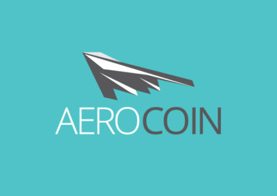 Aero Coin logo design