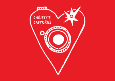 Christy's Captures logo design