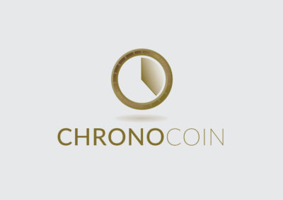 Chrono Coin logo design