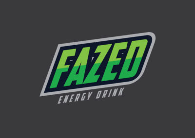 Fazed Energy Drink logo design