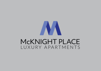 McKnight Place logo design