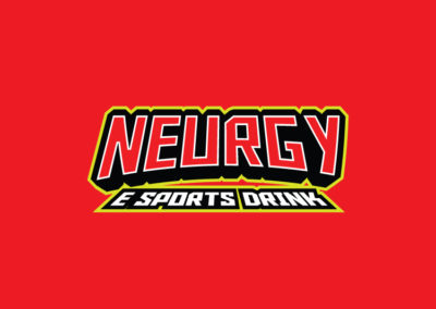 Neurgy Esports drink logo design