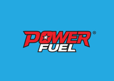 PowerFuel logo design