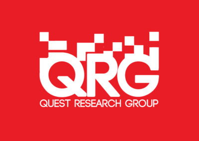 Quest Research Group logo design